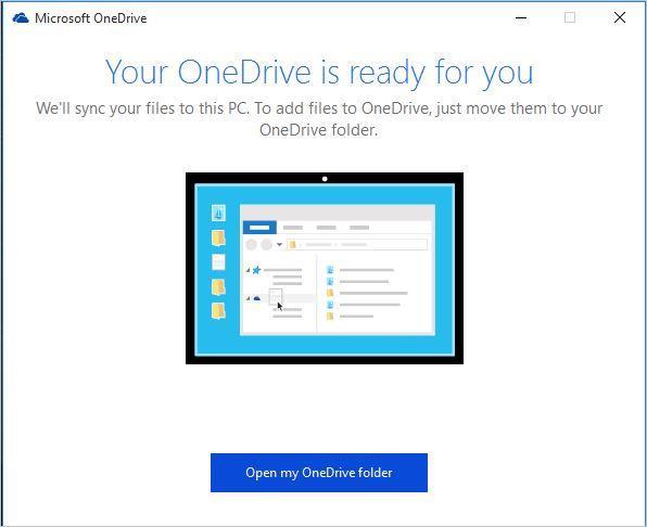 configure OneDrive