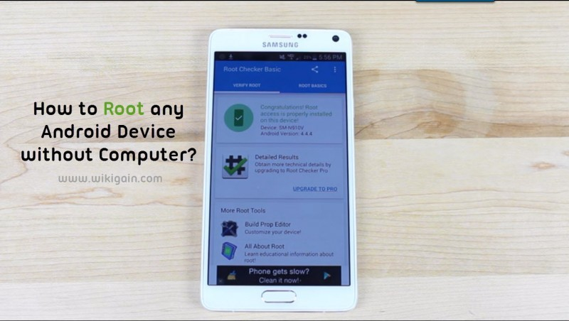 How to Root Android Device without a Computer