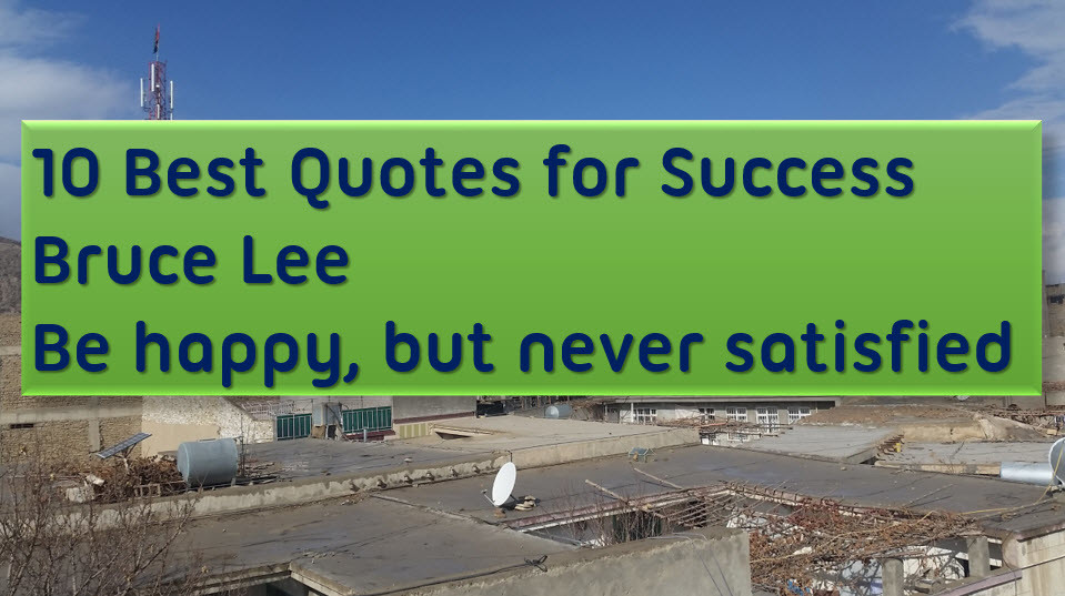 10 Best Quotes for Success