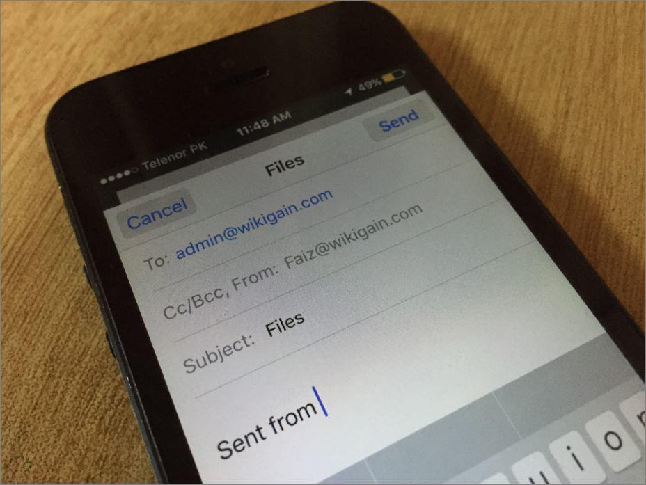How to Add Self-Hosted Email Account on iOS Devices