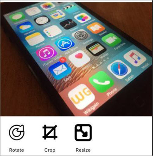 How to Resize Pictures on iOS Devices
