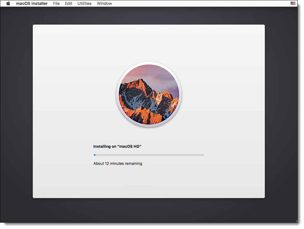 Installing macOS Sierra on VMware