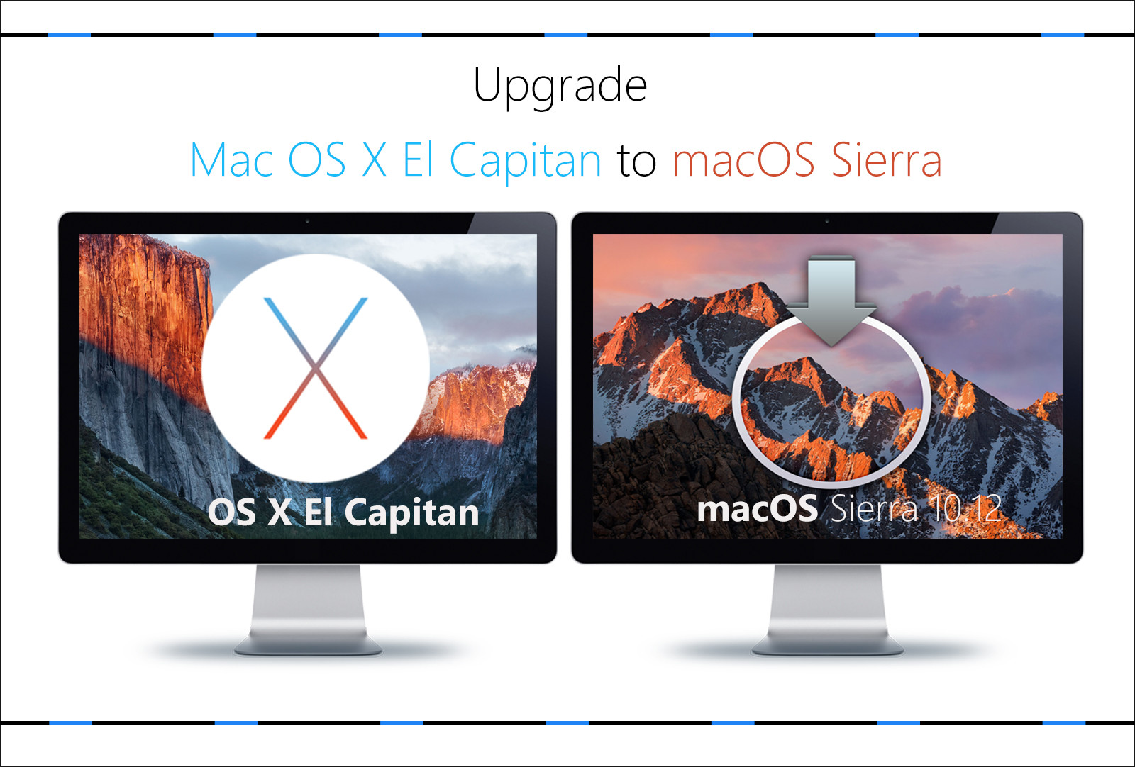 How to Upgrade Mac OS X El Capitan to macOS Sierra 10.12?
