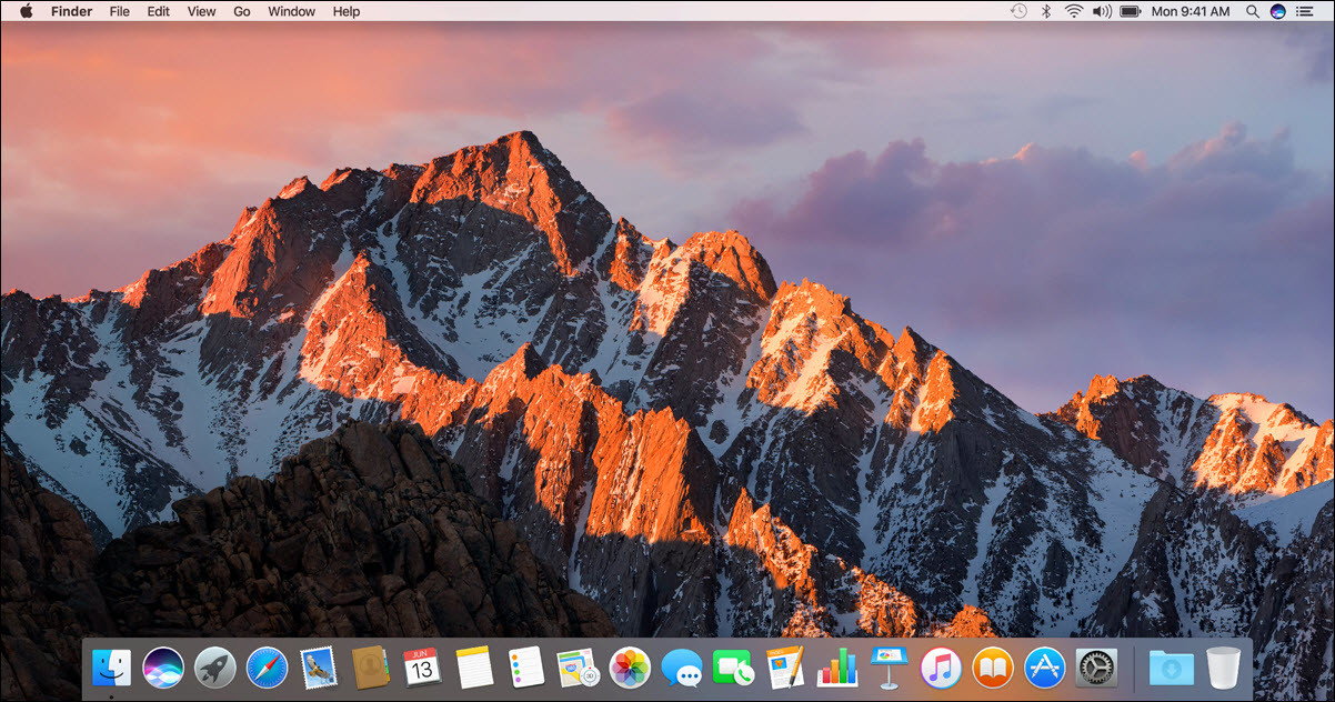 macOS Sierra Final Version
