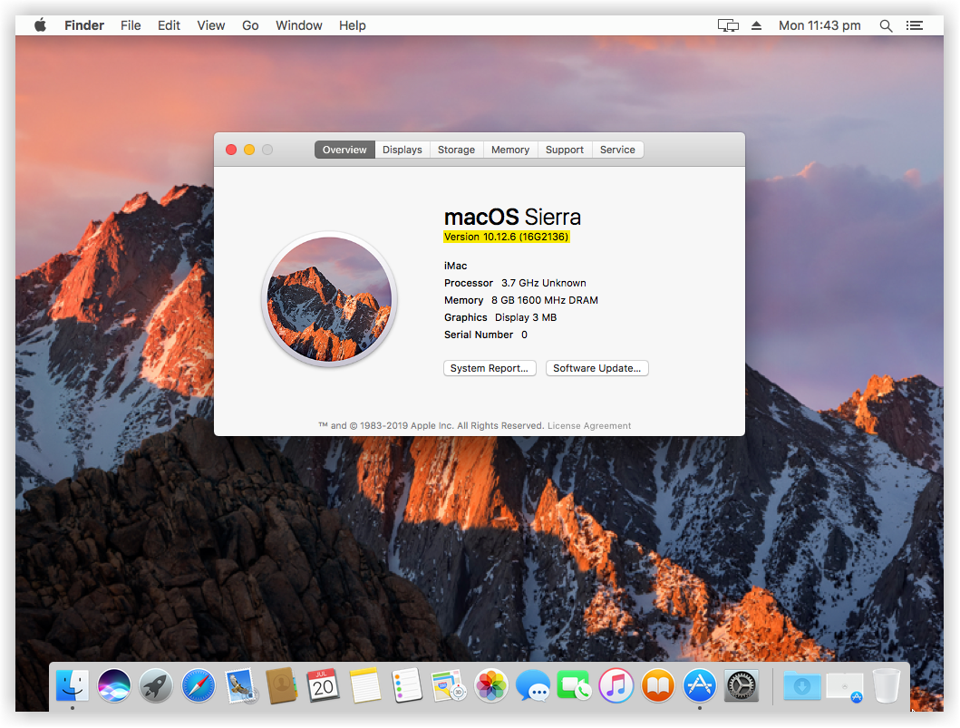 How to update macOS Sierra to the Latest Version