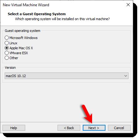 macOS Sierra 10.12 Version