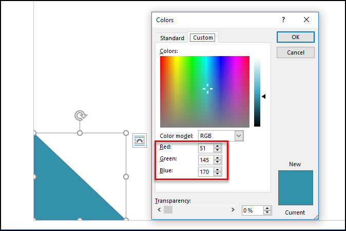 Designing Brochure with Shapes in Word 2016