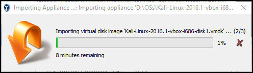 Working with VirtualBox Appliances