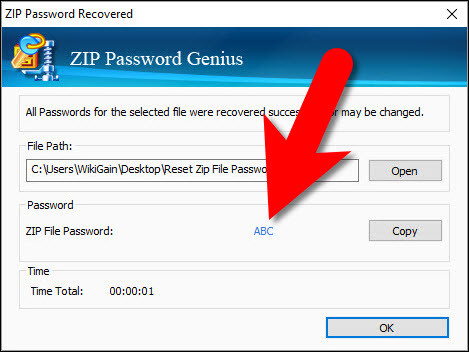 How to Reset Zip File Password?