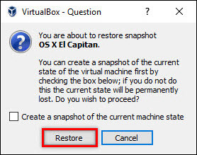How to Take and Use Snapshots on VirtualBox?