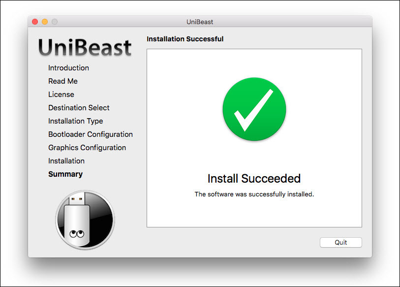 Create Bootable USB Installer for macOS Sierra