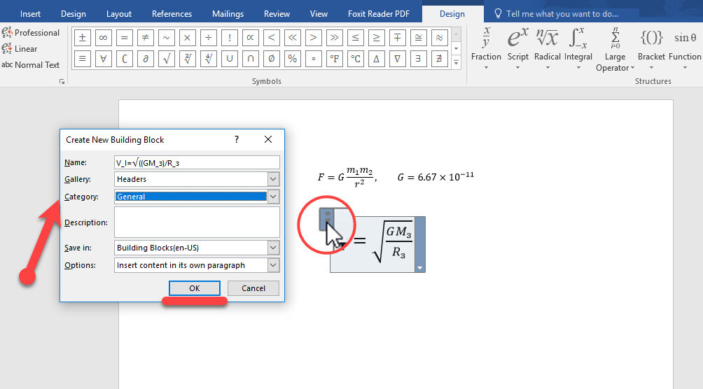 How to Write Mathematical Equations in Ms Word 2016
