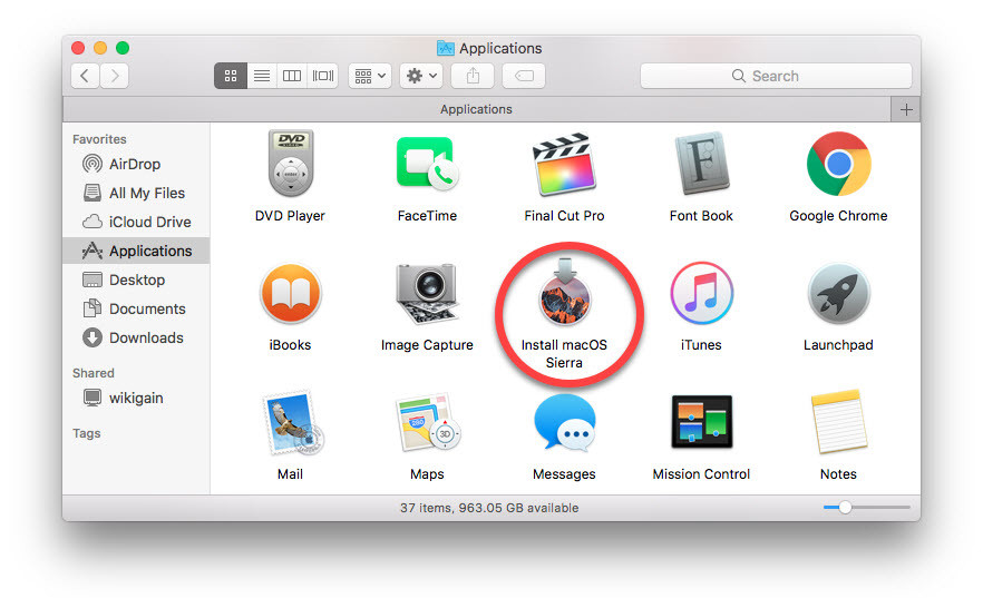 How to download macOS Sierra