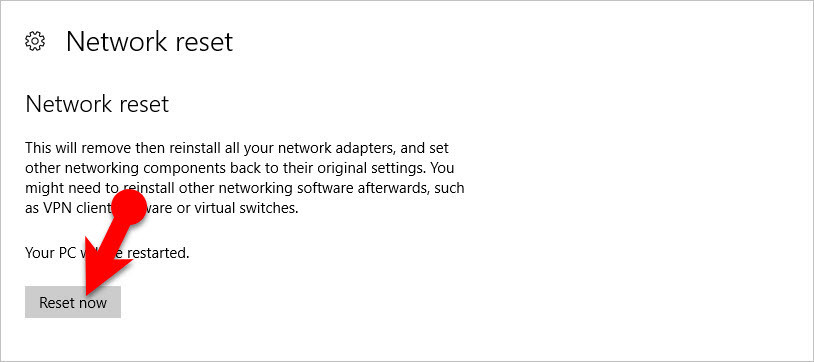 How to Fix Disabled Network Adapter on Windows 10