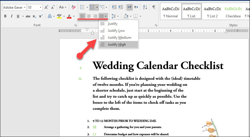 Set Paragraph Settings in Microsoft Word 2016-Part 1