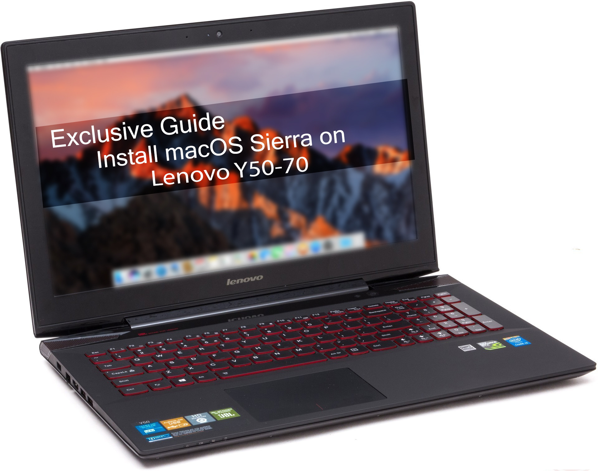 [Exclusive Guide] Install macOS Sierra on Lenovo Y50-70 (1080p-UHD)