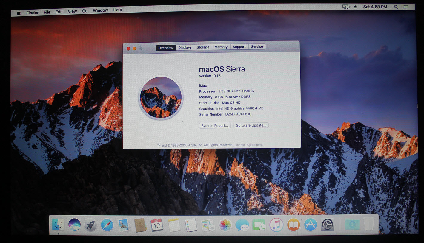 [Exclusive Guide] Install macOS Sierra on Laptop - Hackintosh 10.12