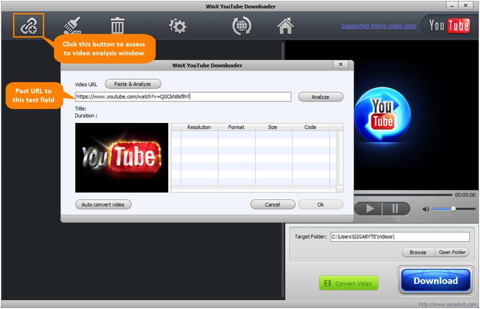 WinX YouTube Video Downloader - Help You Save Online Videos in MP4