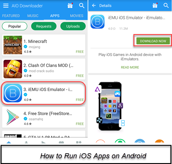 How to Run iOS Apps On Android Device With Simple Way - wikigain