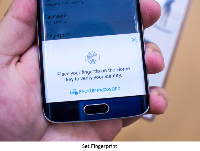 Unlock PC via Android Device Fingerprint