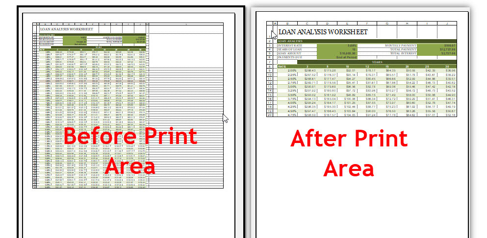 Use Page layout and Printing in Microsoft Excel 2016