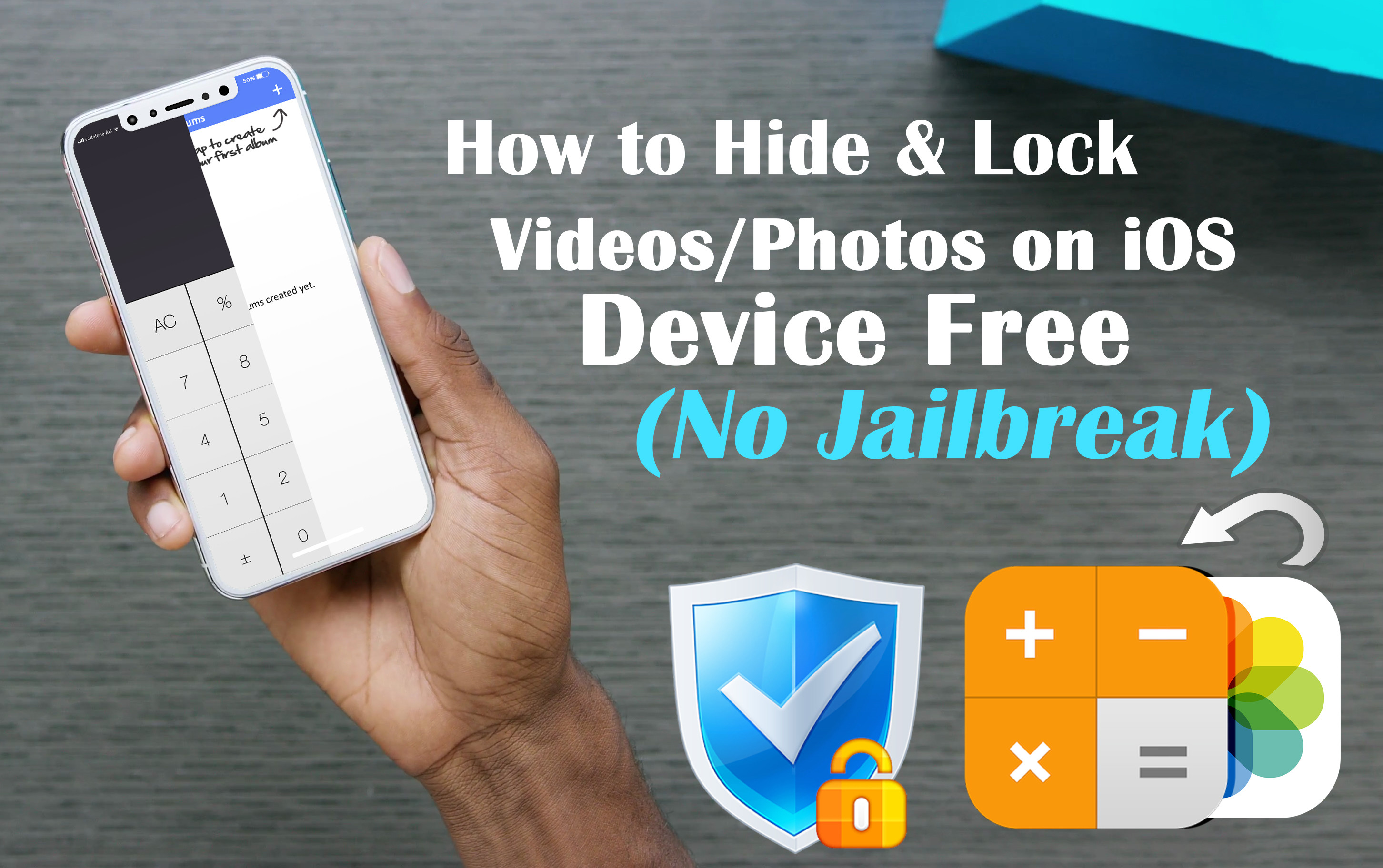 How to Hide & Lock Videos/Photos on Your iOS Device Free (No Jailbreak)