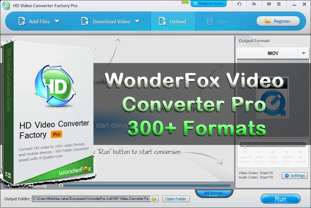 Convert Your Video to Any Format – WonderFox Video Converter Pro