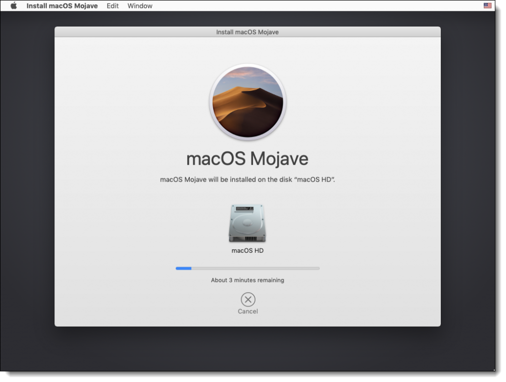 Installing macOS Mojave On the VMDK