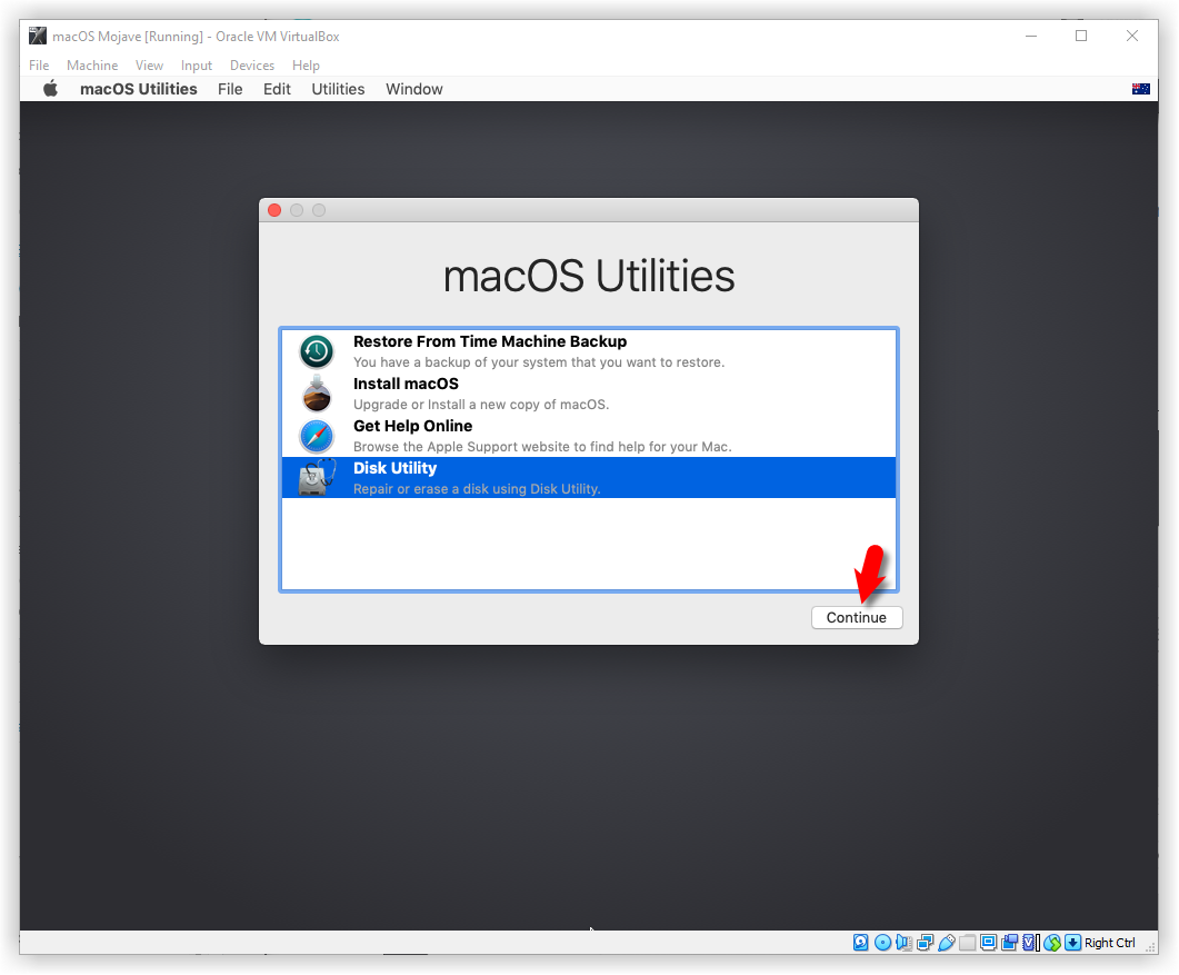 How to Install macOS Mojave On Virtualbox on Windows Using ISO