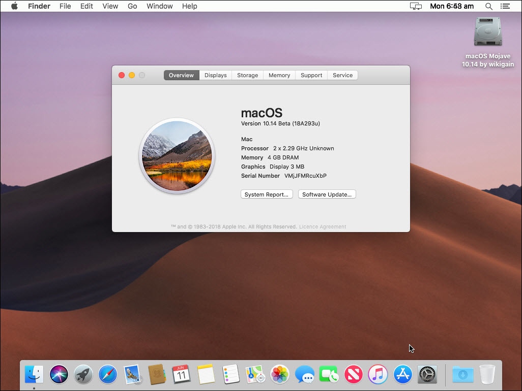 How to Install macOS Mojave on VirtualBox on Windows - PC