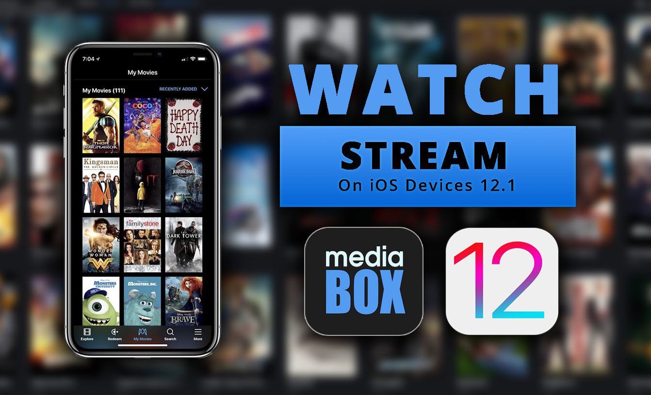 Watch Free Movies on iOS 12.1/ Free Streaming TV (Media Box)