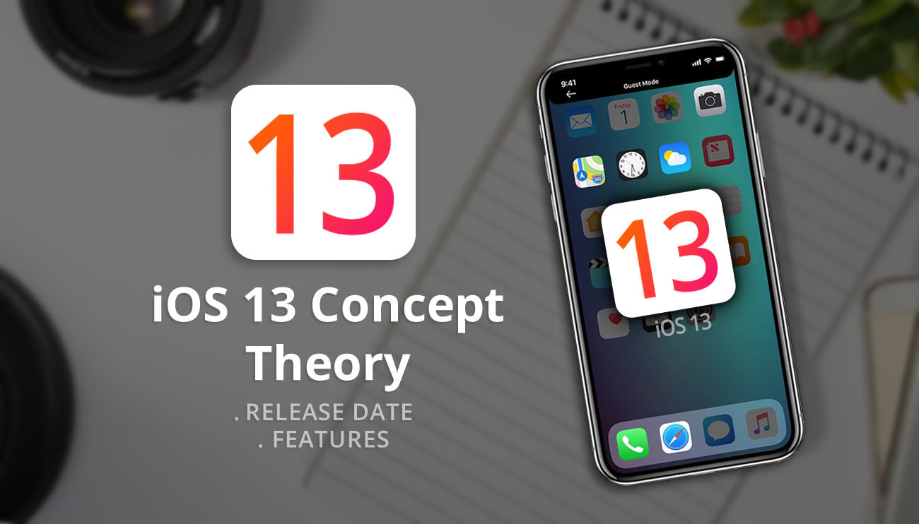 "Apple iOS 13 Concept Theory ""Release Date & Features"""