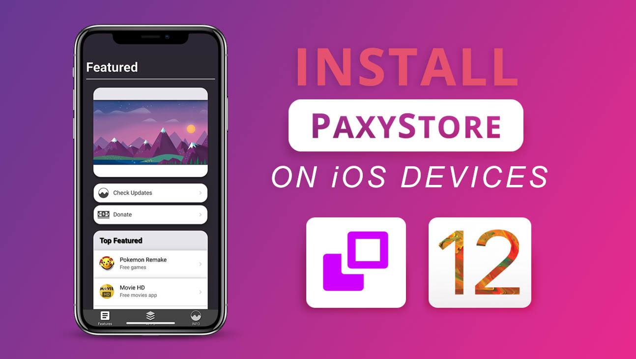 "Get Cydia Alternative ""PaxyStore"" / Free on Any iOS Device"