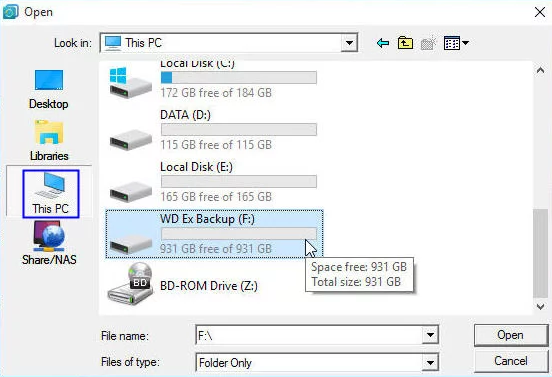 How to Backup Windows 10 to External Disk via AOMEI Backupper