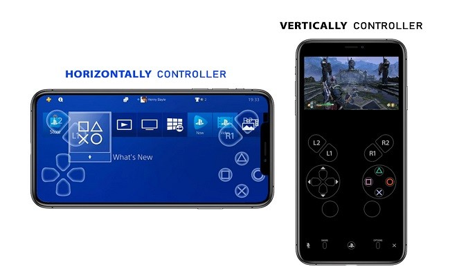 Control PS4 With iPhone
