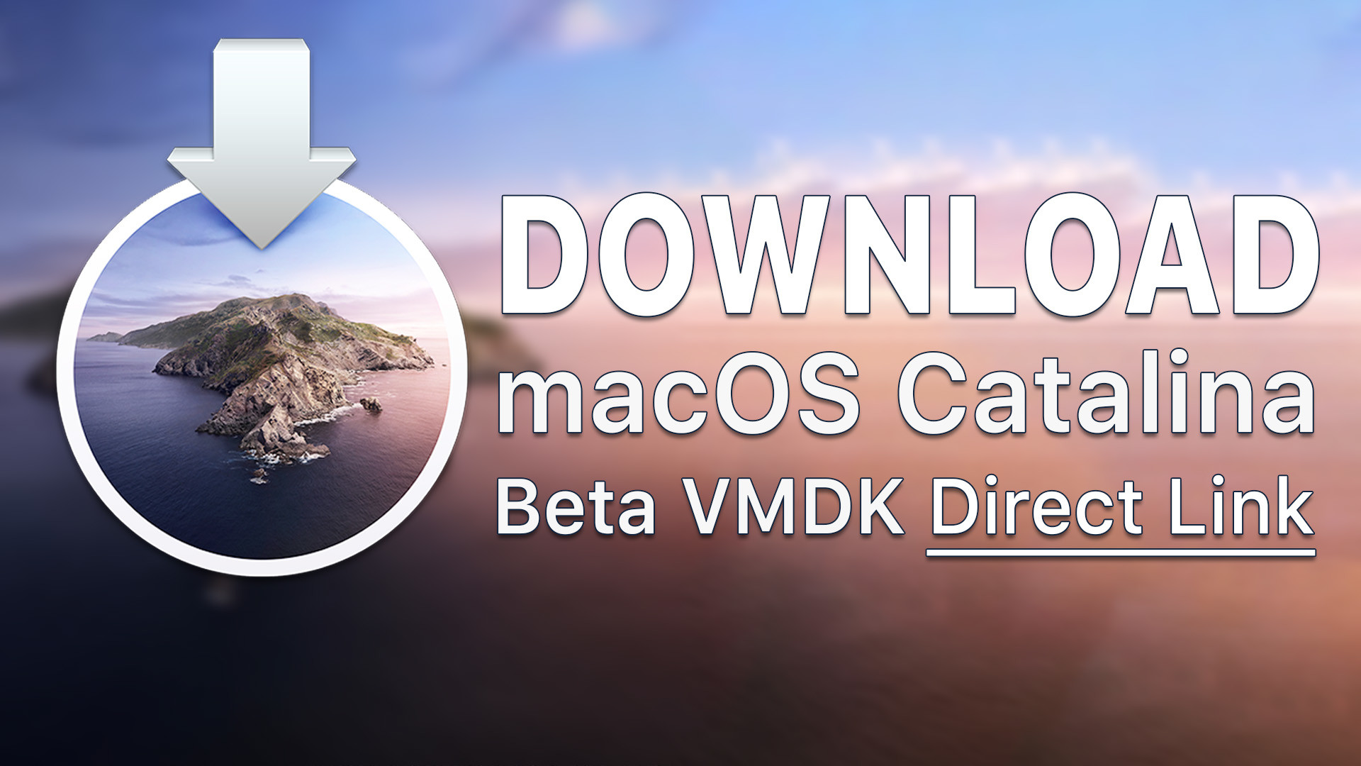 Download macOS Catalina Image for VMware & VirtualBox