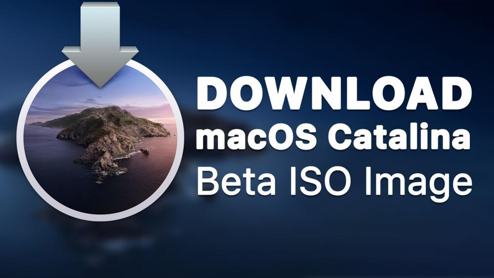 Download macOS Catalina Beta ISO Image