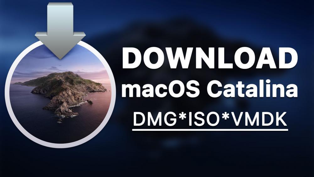 Download macOS Catalina DMG ISO VMDK