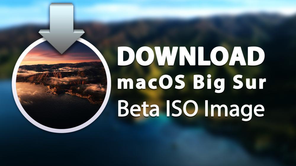 Download macOS Big Sur Beta ISO Image