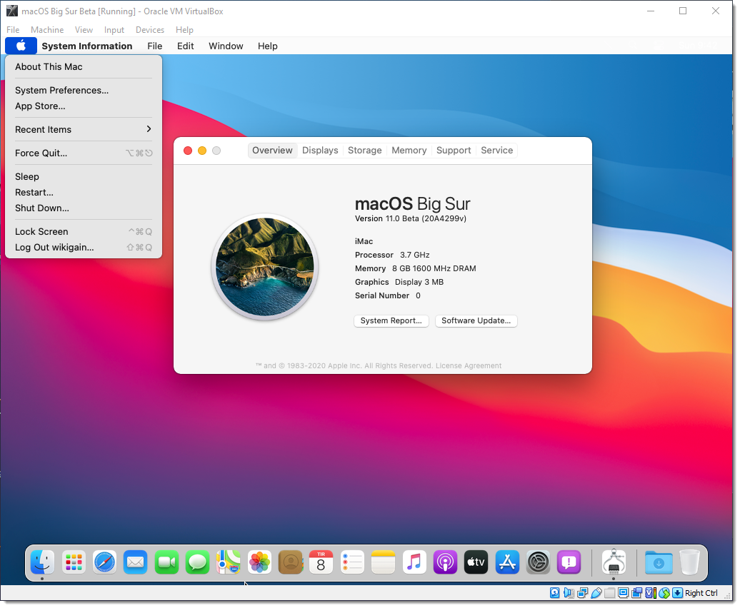 How to Install macOS Big Sur on VirtualBox on Windows – PC