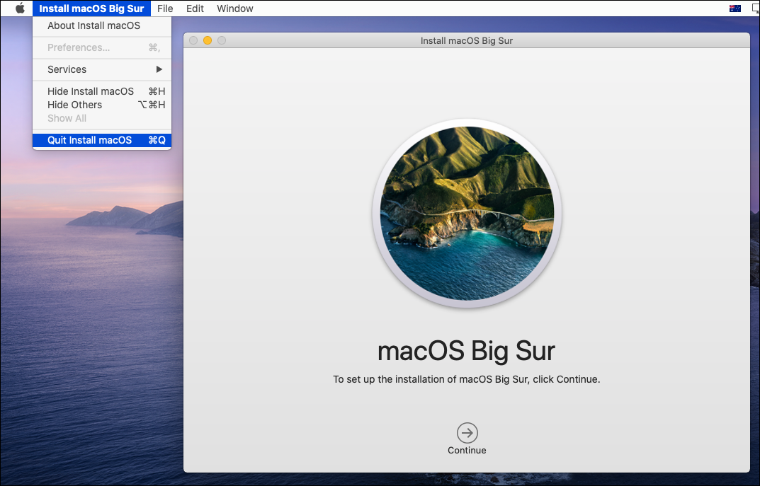 Creating macOS Big Sur Bootable ISO