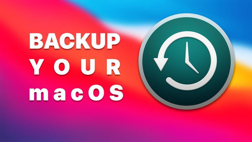 How to Backup your macOS Data to an External Drive