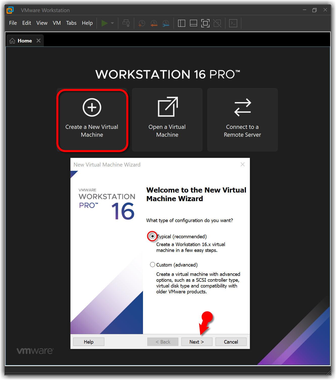 Create new macOS Monterey VM