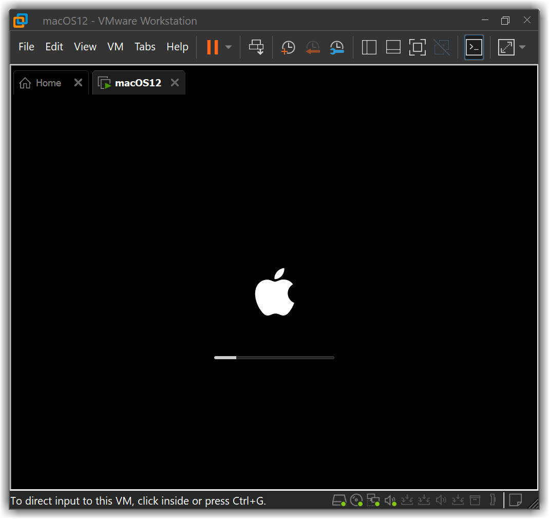 Installing macOS Monterey