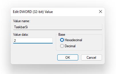 customize the windows 11 taskbar