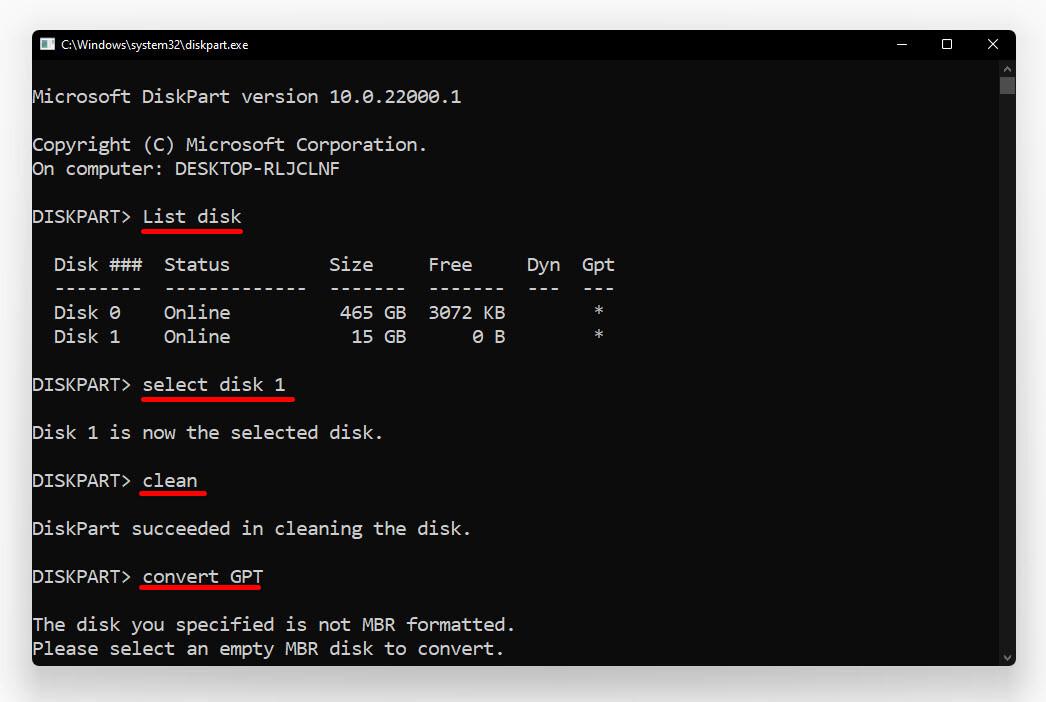 create Bootable USB for Windows 11