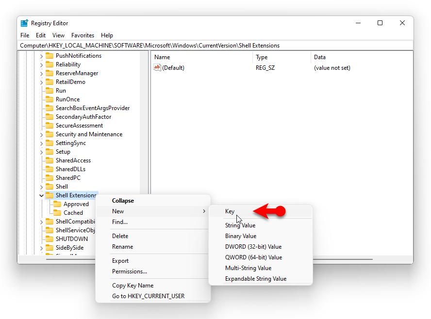 Enable classic File Explorer ribbon on Windows 11