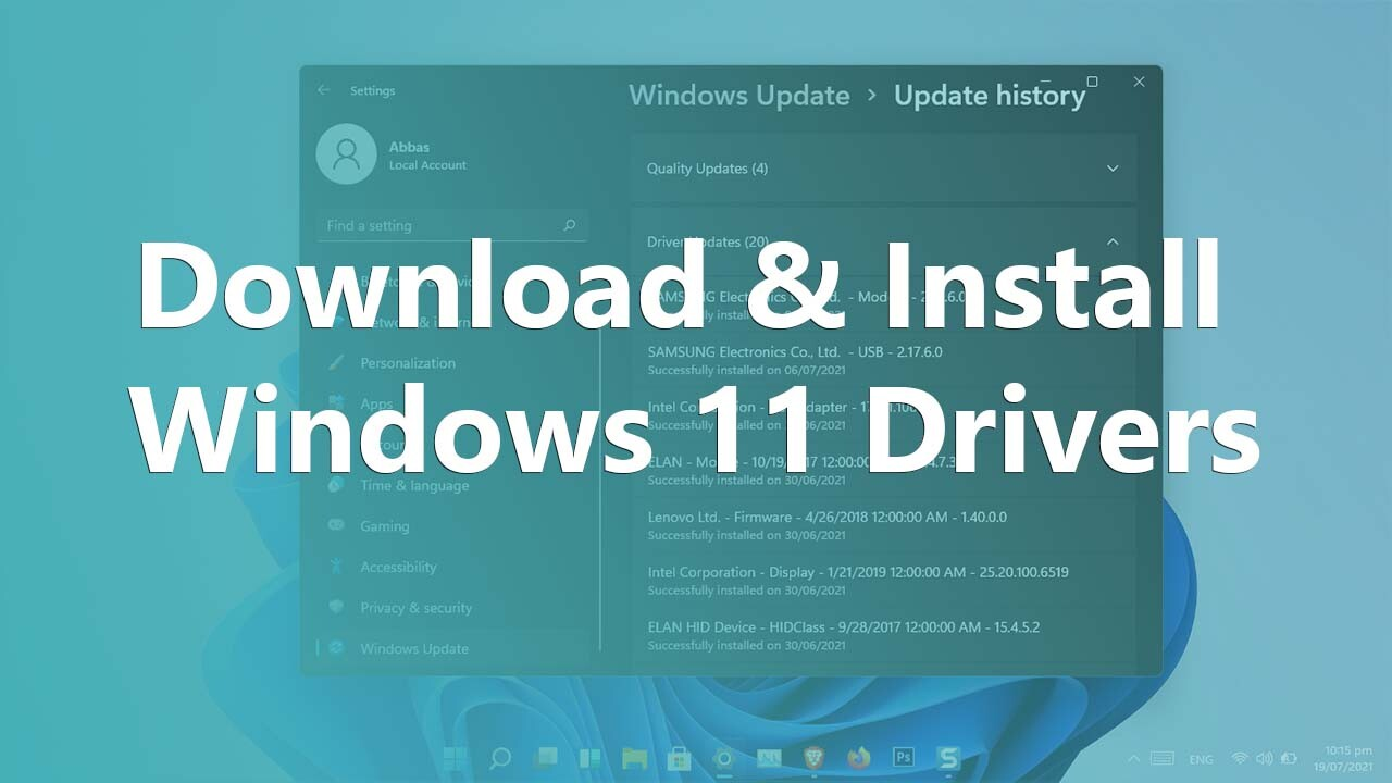 How to Get and Install Windows 11 Drivers?