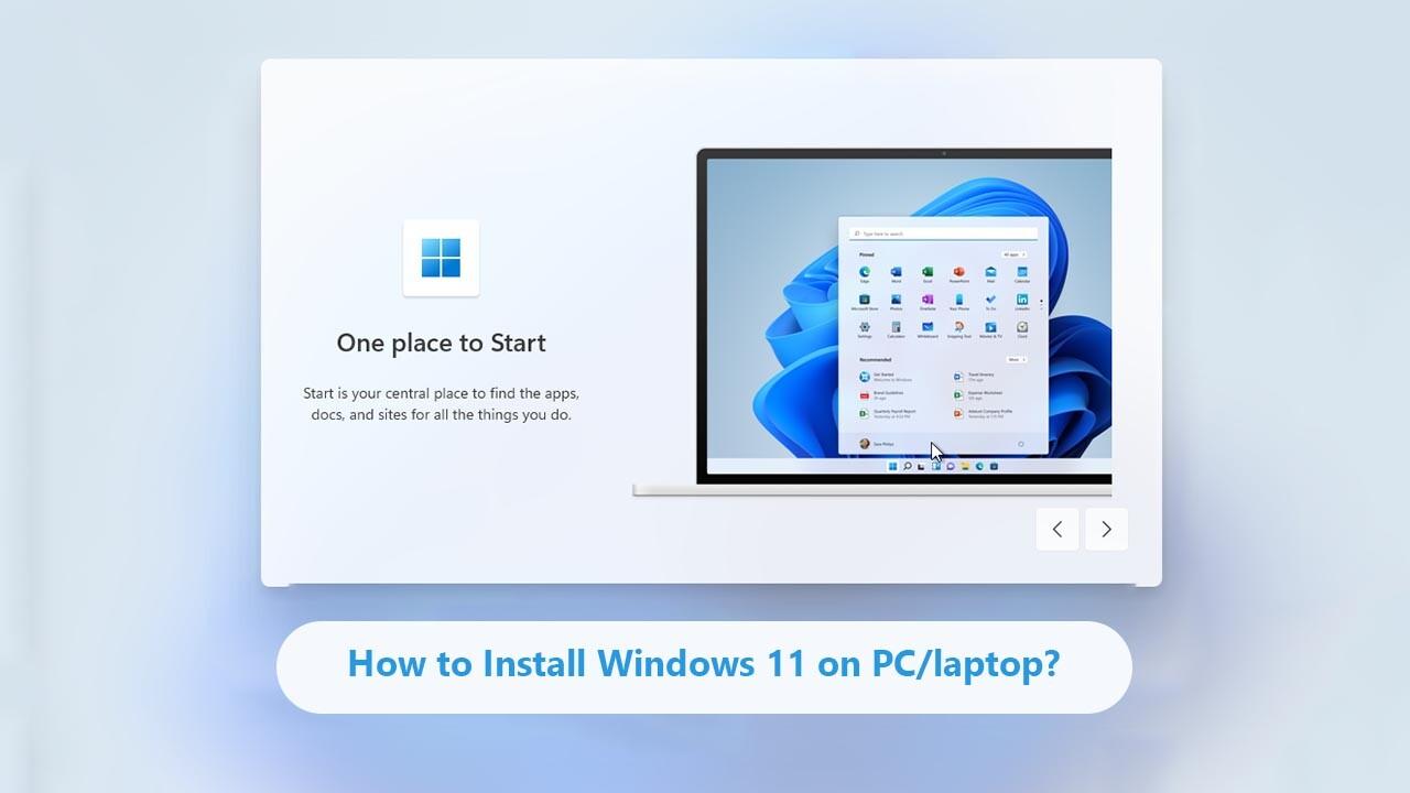 Install Windows 11 on PC