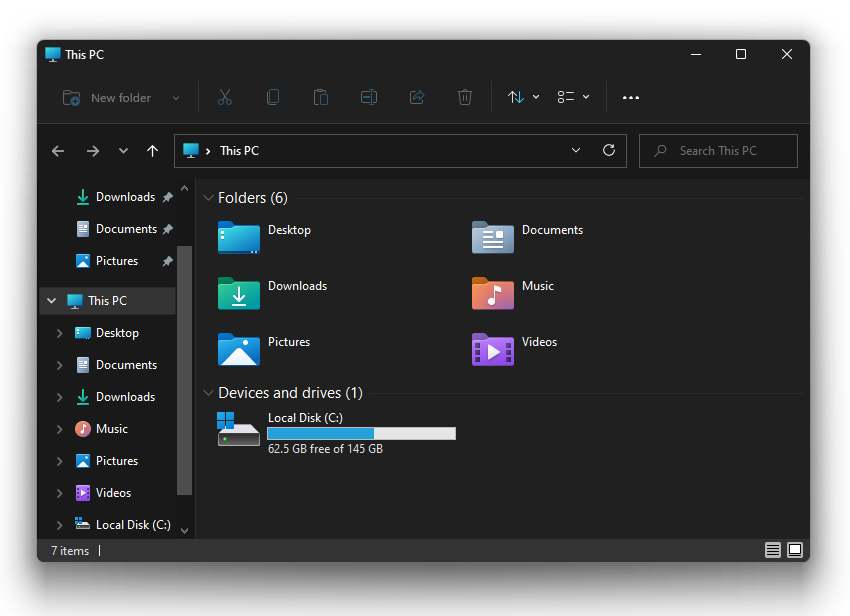 Hide Files Folders and Drives in Windows 11